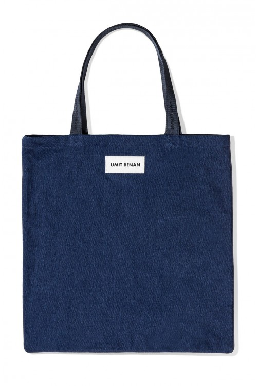 SUPERMARKET BAG IN DENIM
