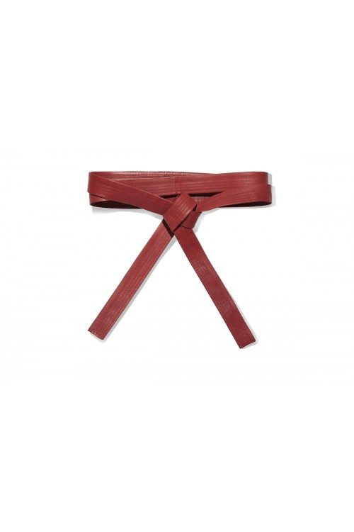 K. K.  KANGAROO LEATHER BELT