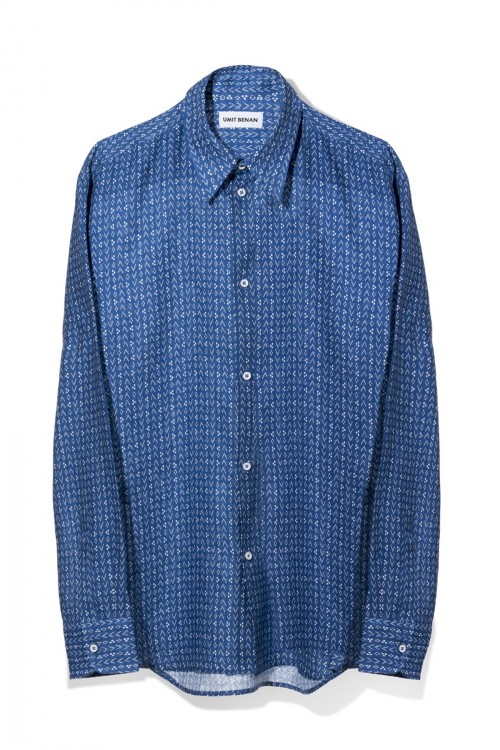ONE POCKET BUTTON DOWN SHIRT