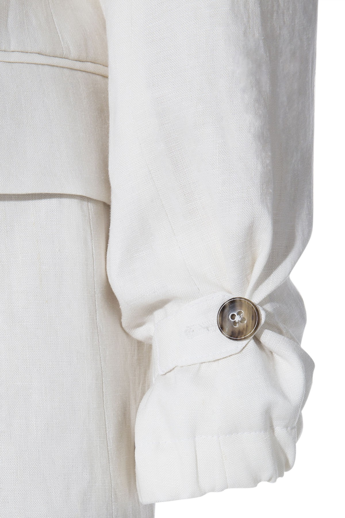 WHITE LINEN HECTOR SUIT