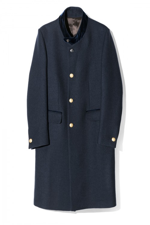 DOUBLE CLOSURE  SARTORIAL COAT