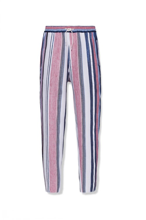 MULTICOLOR JACQUARD MORNING PANTS