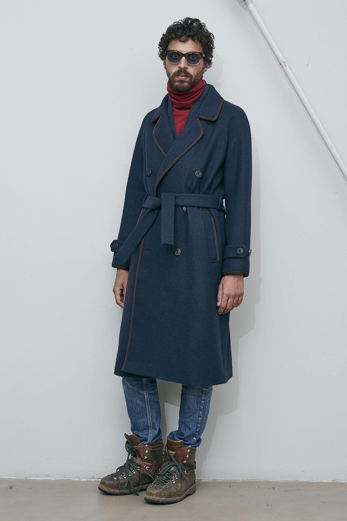 76dbc8bade2aeb K.K. WOOL TRENCH COAT ...
