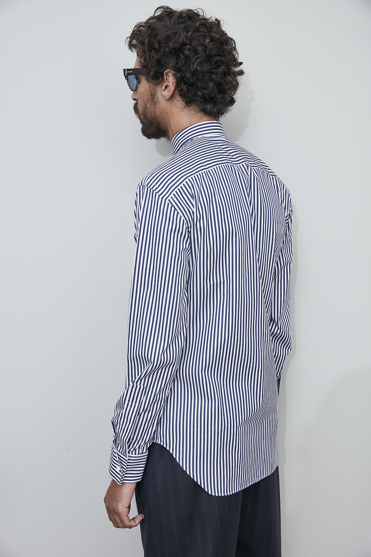 CLASSIC SHIRT with GRU  EMBROIDERY