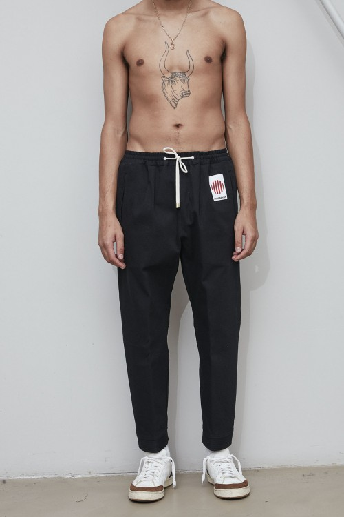 K.K.  COTTON / WOOL PANTS