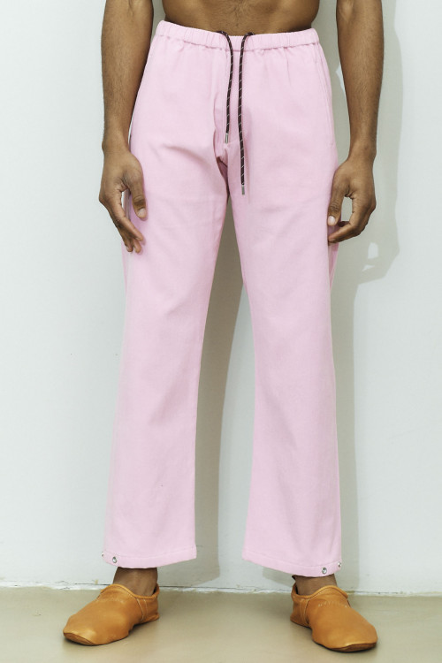LOW WAISTED CASUAL PANTS