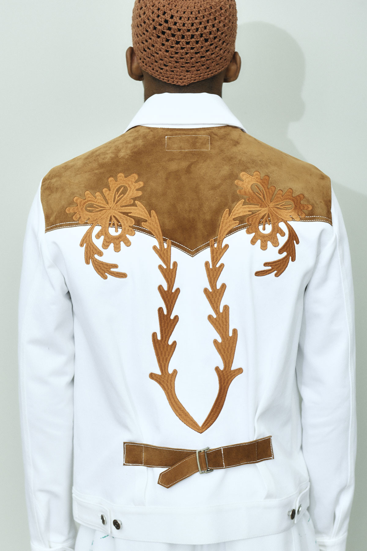 TEJANO EMBROIDERY JEANS JACKET