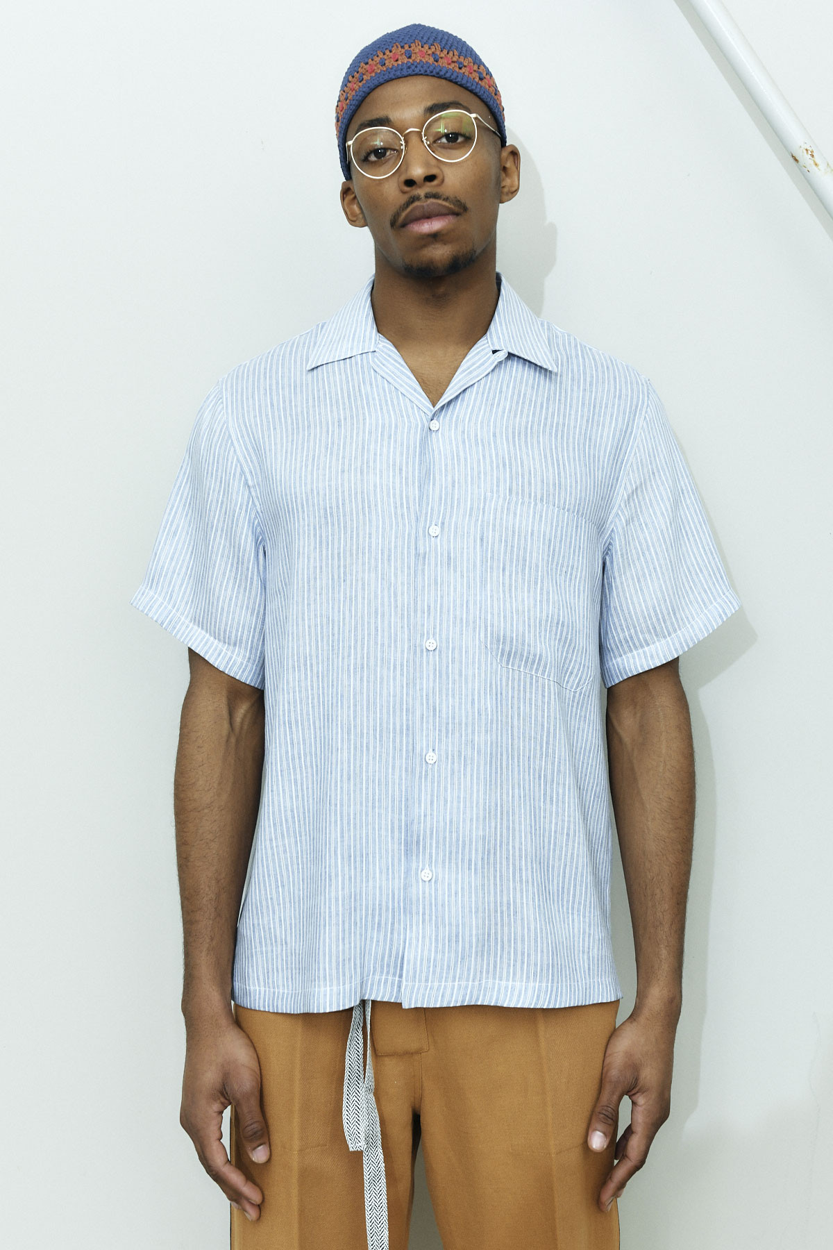 LINEN CUBAN SHIRT